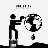 Pollution from industry Stock Photos