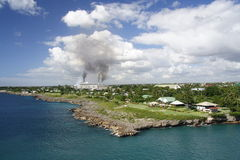 Pollution in Paradise Stock Photography