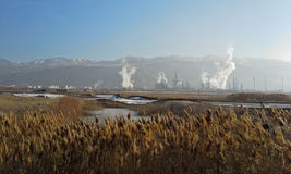 Pollution in Salt Lake City Stock Images