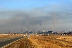 Pollutions. Image stock