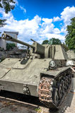 Polnische Armee-Museum - SU-76M Lizenzfreie Stockbilder