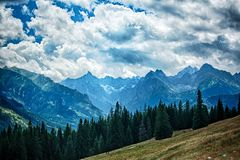 Polnische Berge Stockfotos