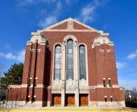 Polnische einwandernde Kirche Stockfotos
