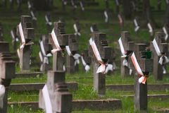 Polnische Gräber Lizenzfreie Stockbilder