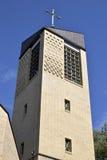 Polnische katholische Kirche Stockfotografie