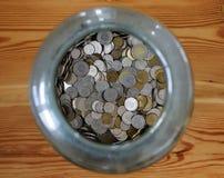 Polnische Münzen Lizenzfreies Stockfoto