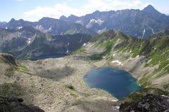 Polnische Tatra Berge Stockfoto