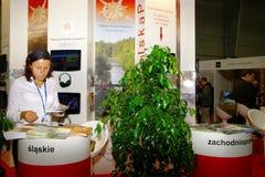 Polnische touristische Organisation an TT Warschau Stockbild