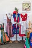 Polnische Volkskostüme Stockfotos