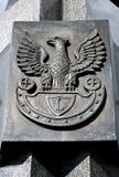Polnischer Adler. Stockfoto