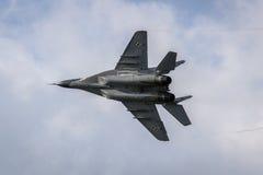 Polnischer Drehpunkt MiG-29 Lizenzfreie Stockfotografie