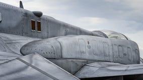 Polnischer F-16 Lizenzfreies Stockbild