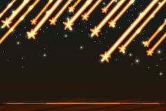 Polnischer Hintergrund des Sternes Stockfotografie