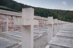 Polnischer Kriegskirchhof von Montecassino Stockbild