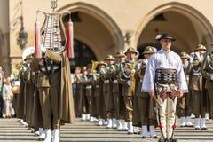 Polnischer Nationalfeiertag der Konstitutions-Tag am 3. Mai Lizenzfreies Stockfoto