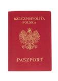 Polnischer Paß Lizenzfreies Stockbild