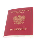 Polnischer Paß Lizenzfreie Stockfotos