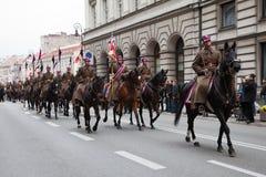 Polnischer Unabhängigkeitstag am 11. November 2010 Lizenzfreies Stockfoto