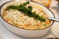 Polnischer vegatable Salat Stockbilder