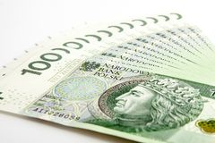 Polnischer Zloty Stockbilder