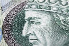Polnischer Zloty Stockfoto