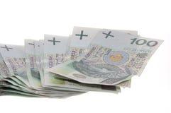 Polnischer Zloty Stockfotos