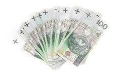 Polnischer Zloty Stockbild