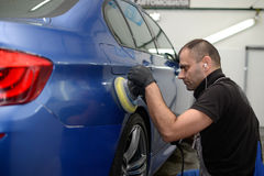 Polnisches Â-Auto Lizenzfreie Stockfotografie