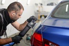 Polnisches Â-Auto Lizenzfreies Stockbild
