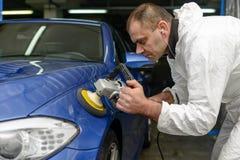 Polnisches Â-Auto Lizenzfreies Stockfoto