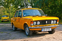 Polnisches Auto Polski Fiat 125p des Klassikers Stockfotografie