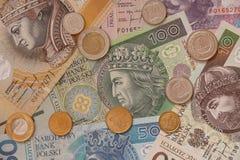 Polnisches Bargeld Stockfotografie