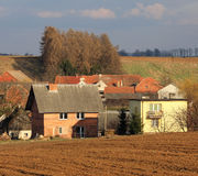 Polnisches Dorf Lizenzfreie Stockfotos
