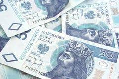 Polnisches Geld Lizenzfreie Stockbilder