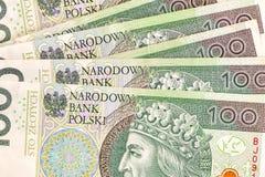 Polnisches Geld Stockfotografie