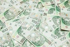 Polnisches Geld Lizenzfreies Stockbild