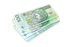 Polnisches Geld. Stockfoto