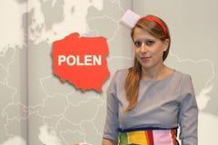 Polnisches Mädchen Stockfotos