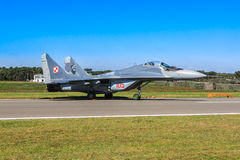 Polnisches MiG-29 Lizenzfreies Stockfoto