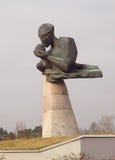 Polnisches Mutter-Monument Stockbild