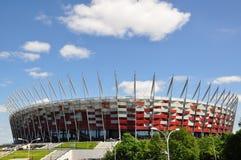Polnisches nationales Stadion stockbilder