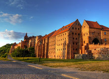 Polnisches Schloss Stockfotos