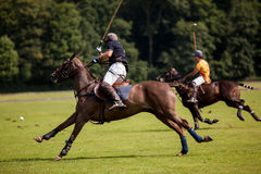 Polo Ball hit Royalty Free Stock Photo