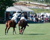 Polo bei schwarzem Diamond Polo Club Lizenzfreie Stockfotografie