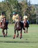 Polo bei schwarzem Diamond Polo Club Lizenzfreies Stockbild