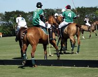 Polo Club - Wellington internationaux, la Floride - Joe image libre de droits
