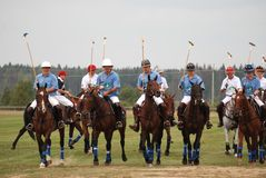 Polo Cup of Russia Royalty Free Stock Images
