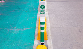 Polo da pista da bicicleta em Banguecoque em Tailândia Imagem de Stock Royalty Free