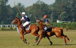 Polo, das in Kolkata-Indien spielt Lizenzfreies Stockfoto