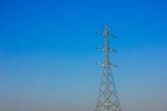 Polo de alto voltaje Foto de archivo